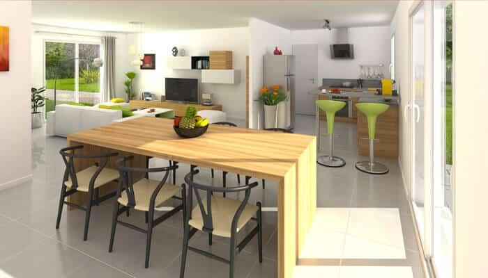 plan maison gratuit amaryllis maison plain pied. Black Bedroom Furniture Sets. Home Design Ideas