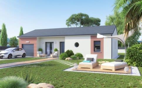 Plan maison gratuit for Modele de maison a construire plain pied