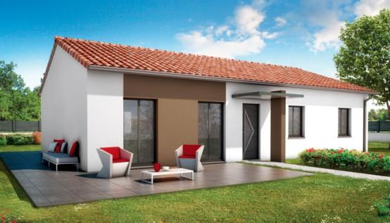 Maison de plain pied bali plan maison gratuit for Modele de maison a construire plain pied