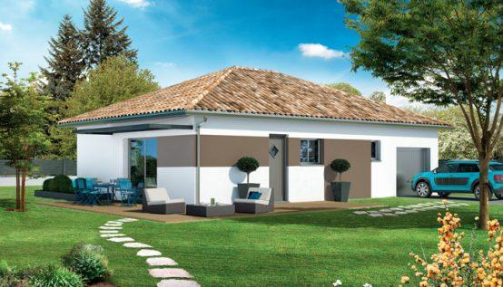 Plan maison traditionnelle beaufort maison individuelle for Modele maison plain pied 120m2