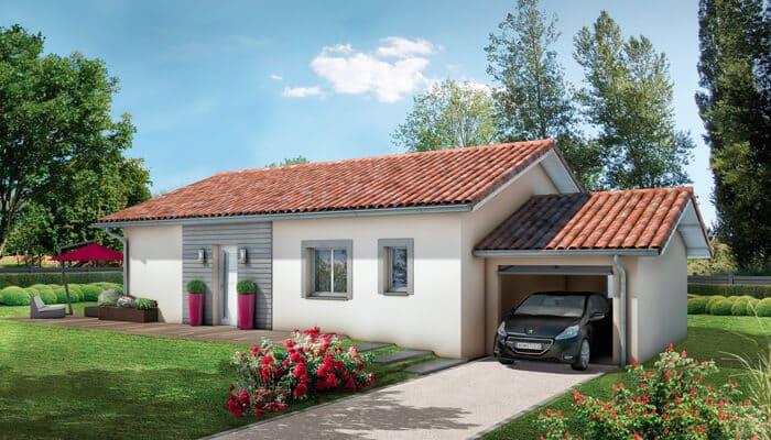 Plan maison plain pied bugey maison individuelle for Plan agrandissement maison individuelle