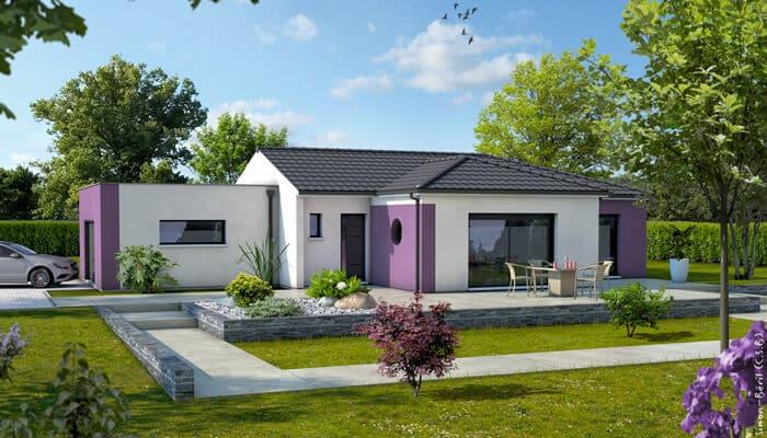 Plan maison moderne z phyr maison plain pied for Plan maison contemporaine plain pied toit plat