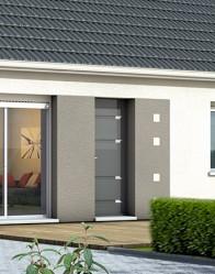 Porte design - maison individuelle Amaryllis