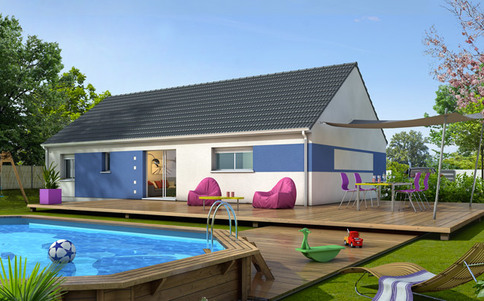 Plan maison gratuit Amaryllis
