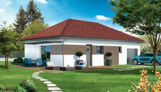 Maison traditionnelle Beaufort - plan maison gratuit