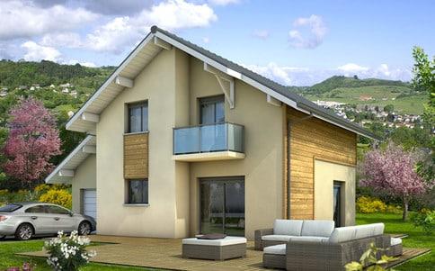Plan maison gratuit for Maison modulaire contemporaine