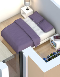 plan maison 3D - maison modulaire Belledonne