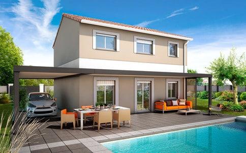 Plan maison traditionnelle Chypre