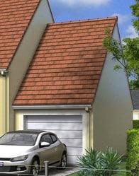 Maison individuelle avec garage accolé