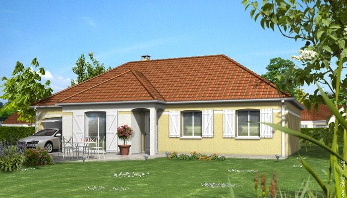 maison familiale dahlia maisons clair logis. Black Bedroom Furniture Sets. Home Design Ideas