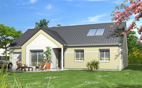 Plan maison plain-pied Dahlia