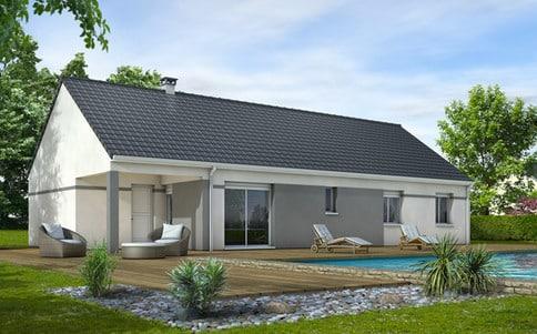 Plan maison gratuit Eglantine