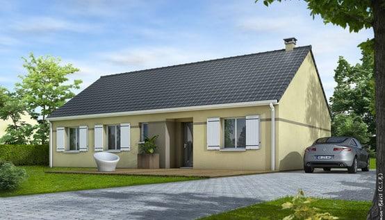 plan de maison gratuit eglantine maisons clair logis. Black Bedroom Furniture Sets. Home Design Ideas