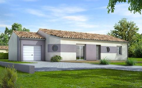 Plan de maison modulaire Eridan