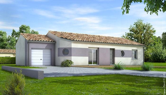 Maison Traditionnelle De Plain Pied Eridan Plan Maison