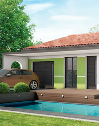 Maison individuelle Fidji - menuiseries modernes