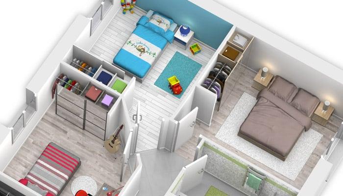 plan maison gratuit hydre maison plain pied. Black Bedroom Furniture Sets. Home Design Ideas