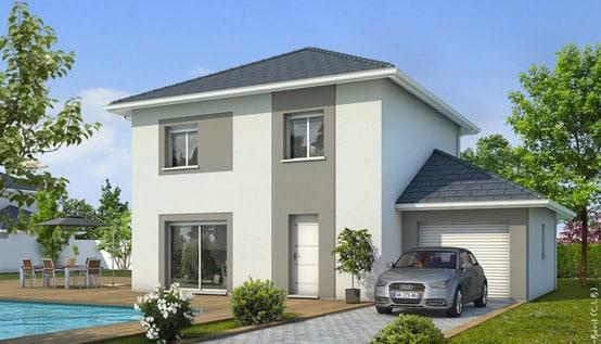 Plan maison gratuit iseran maison individuelle tage for Prix facade maison 100m2