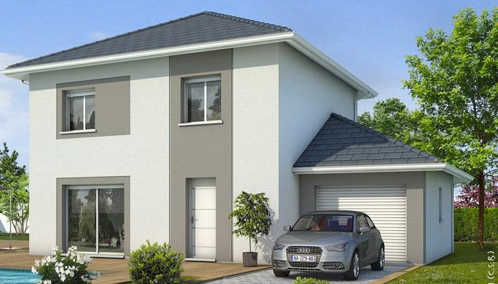 Plan maison gratuit iseran maison individuelle tage for Ajouter un etage a sa maison