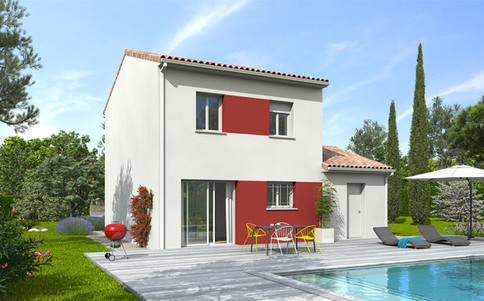 Plan maison gratuit Mimosa