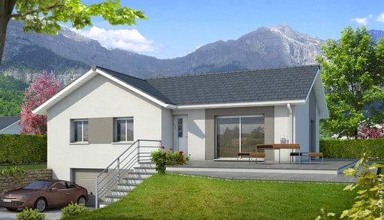 Plan de maison en l oisans plan maison gratuit for Plan de maison avec sous sol
