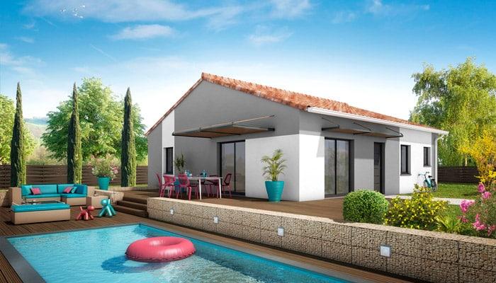 Plan de maison plain pied samoa maison familiale for Plan maison familiale
