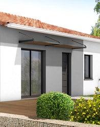 Plan de maison plain pied samoa maison familiale for Auvent maison moderne