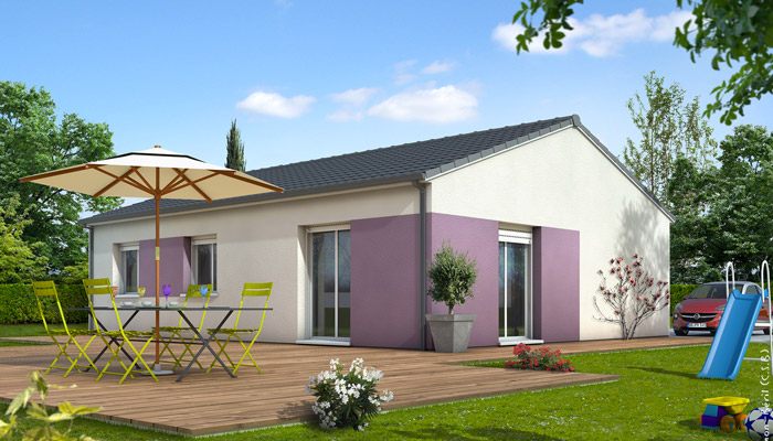 Plan maison 4 chambres 130m2 for Plan de maison traditionnelle gratuit