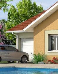 Maison plain pied avec garage accolé