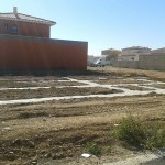 Construction maison : coulage des fondations