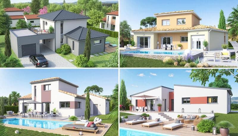 Nouveauté - Modèles et plans de maisons