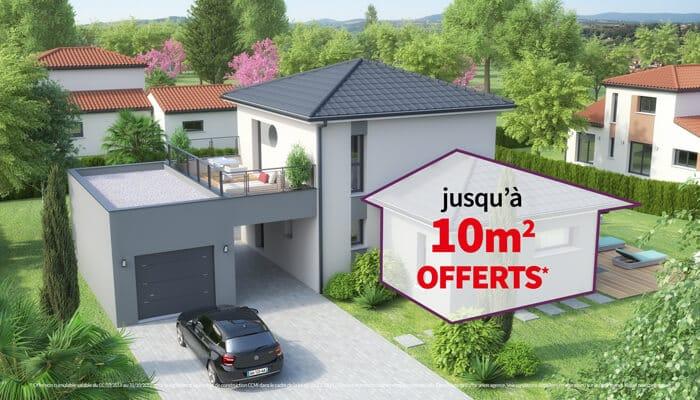Offre spéciale 10m2 OFFERTS* - Maisons Clair Logis
