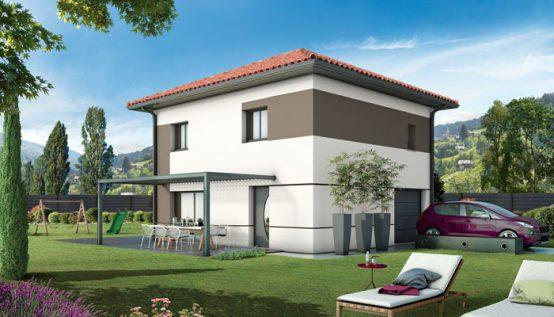 Plan maison individuelle lauzi re maison traditionnelle - Maison neuve style ancien ...
