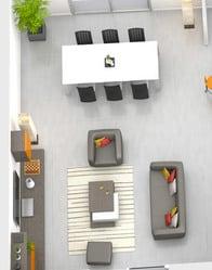 Plan maison 3D Bali - salon/séjour