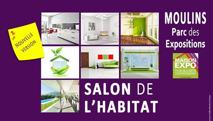 Salon de l 39 habitat de moulins 03000 maisons clair logis for Salon de l habitat dunkerque