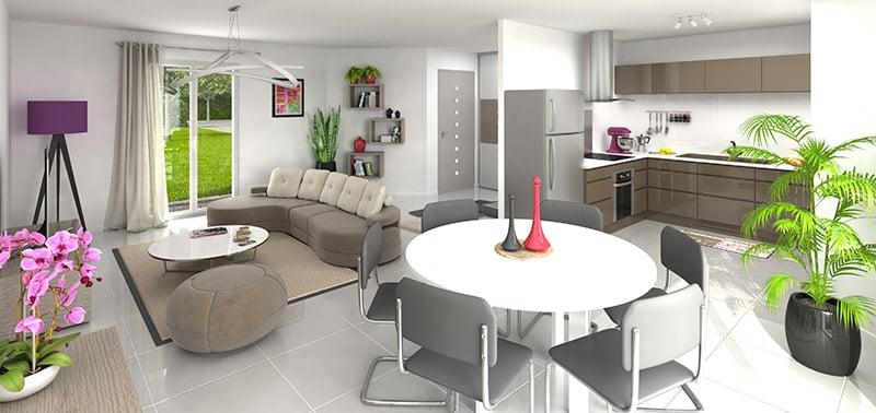 Conception de plans de maison maisons clair logis for Conception plan maison